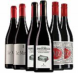 Proefpakket rode bbq-wijnen 6 flessen (3x2 fl.)