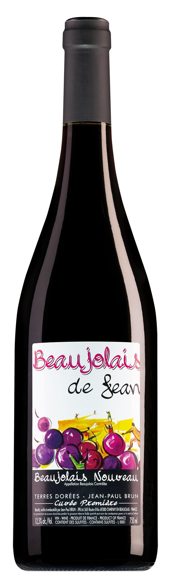 Jean-Paul Brun Terres Dorées Beaujolais Nouveau Cuvée Première 2020