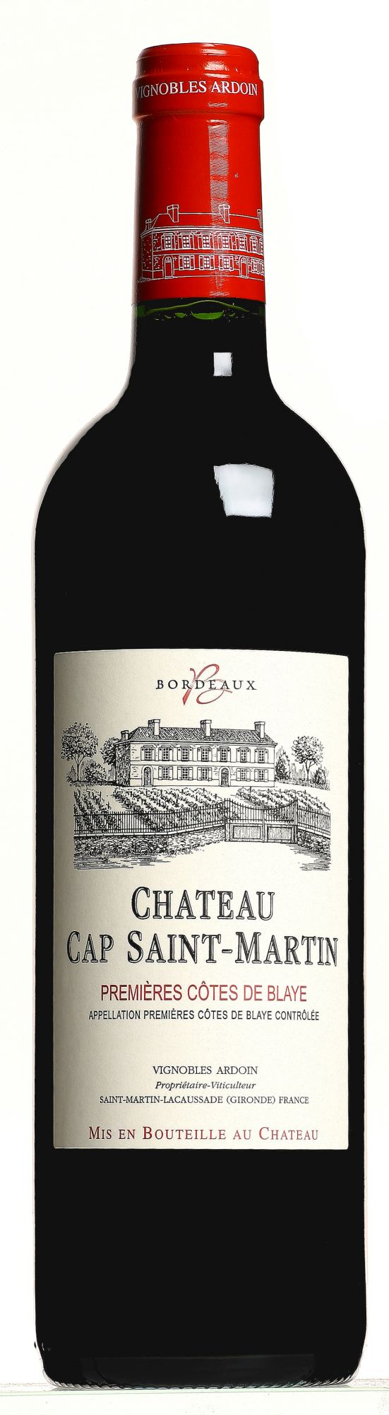 Château Cap Saint-Martin Blaye Côtes de Bordeaux magnum