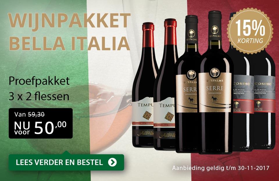 Proefpakket Bella Italia - goud/zwart