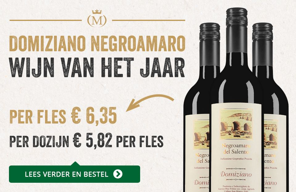 Domiziano Negroamaro (5,82) - Nieuwe stijl Mondovino