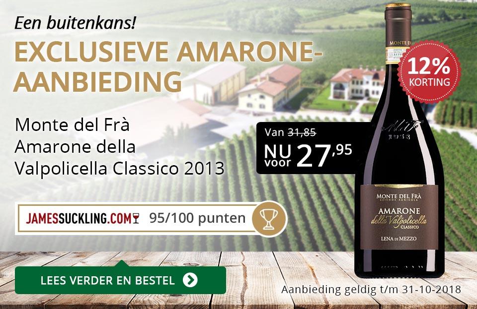 Exclusieve Amarone-aanbieding - goud/zwart