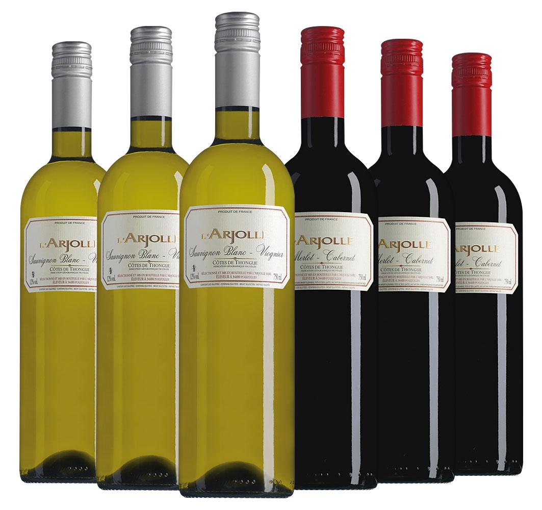 Proefpakket L'Arjolle (2x3 flessen)
