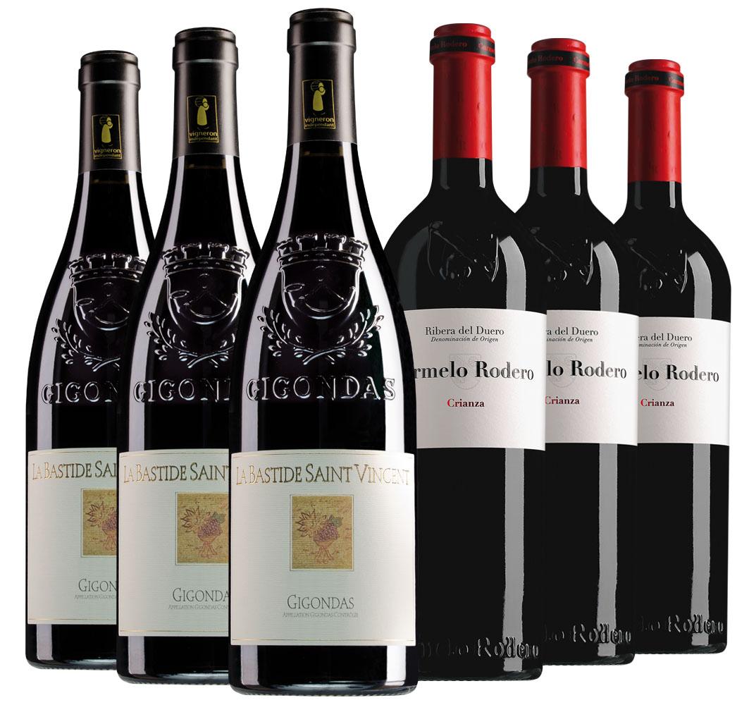 Proefpakket bijzondere wijnen januari (2x3 flessen)