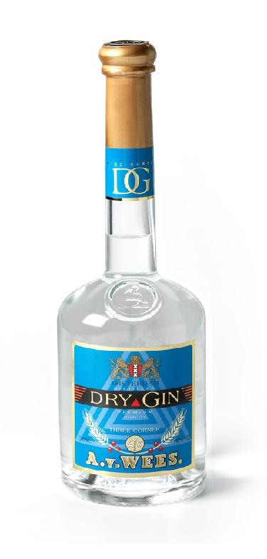 Three Corners Premium Distilled Dry Gin