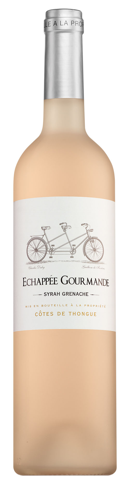 Échappée Gourmande Côtes de Thongue Syrah-Cabernet Franc rosé
