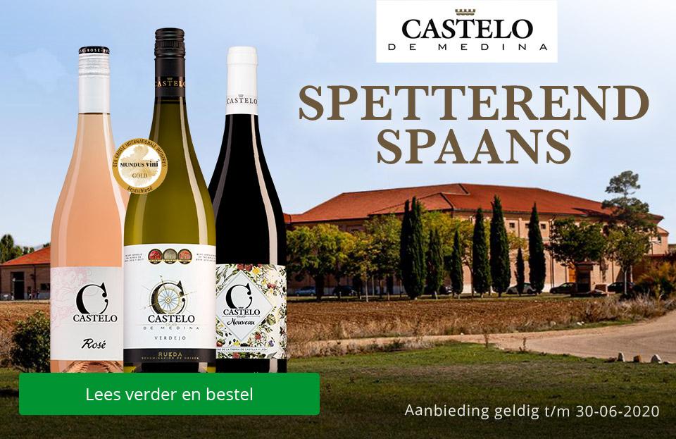 Spetterend Spaans van Castelo de Medina
