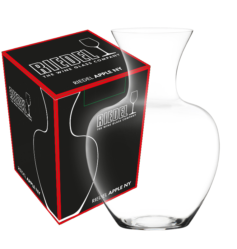 Riedel Decanter Apple NY