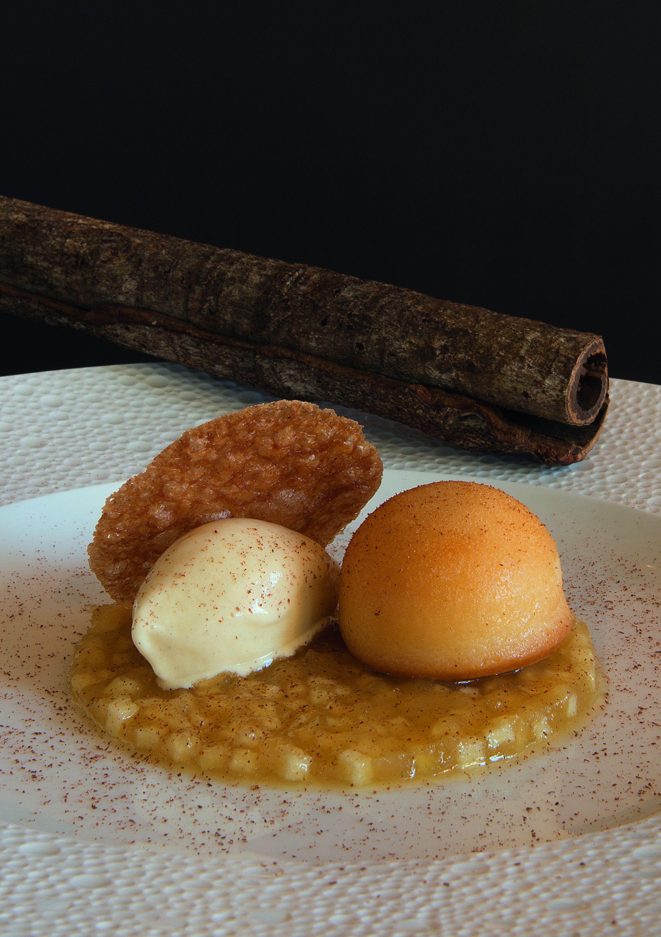 Dessert: Baba au rhum