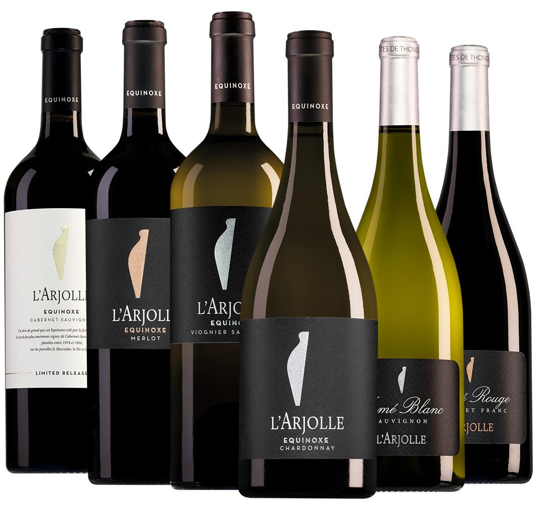 Wijnpakket L'Arjolle (6 flessen)