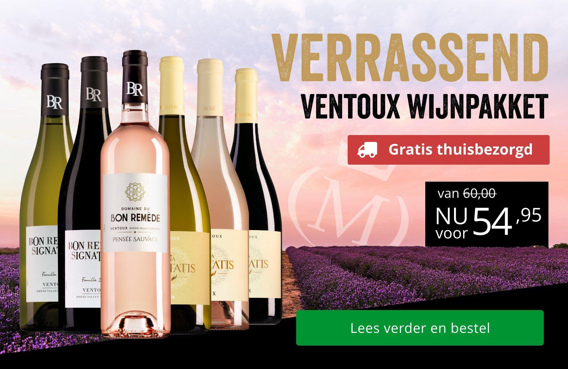 Verrassend Ventoux Wijnpakket