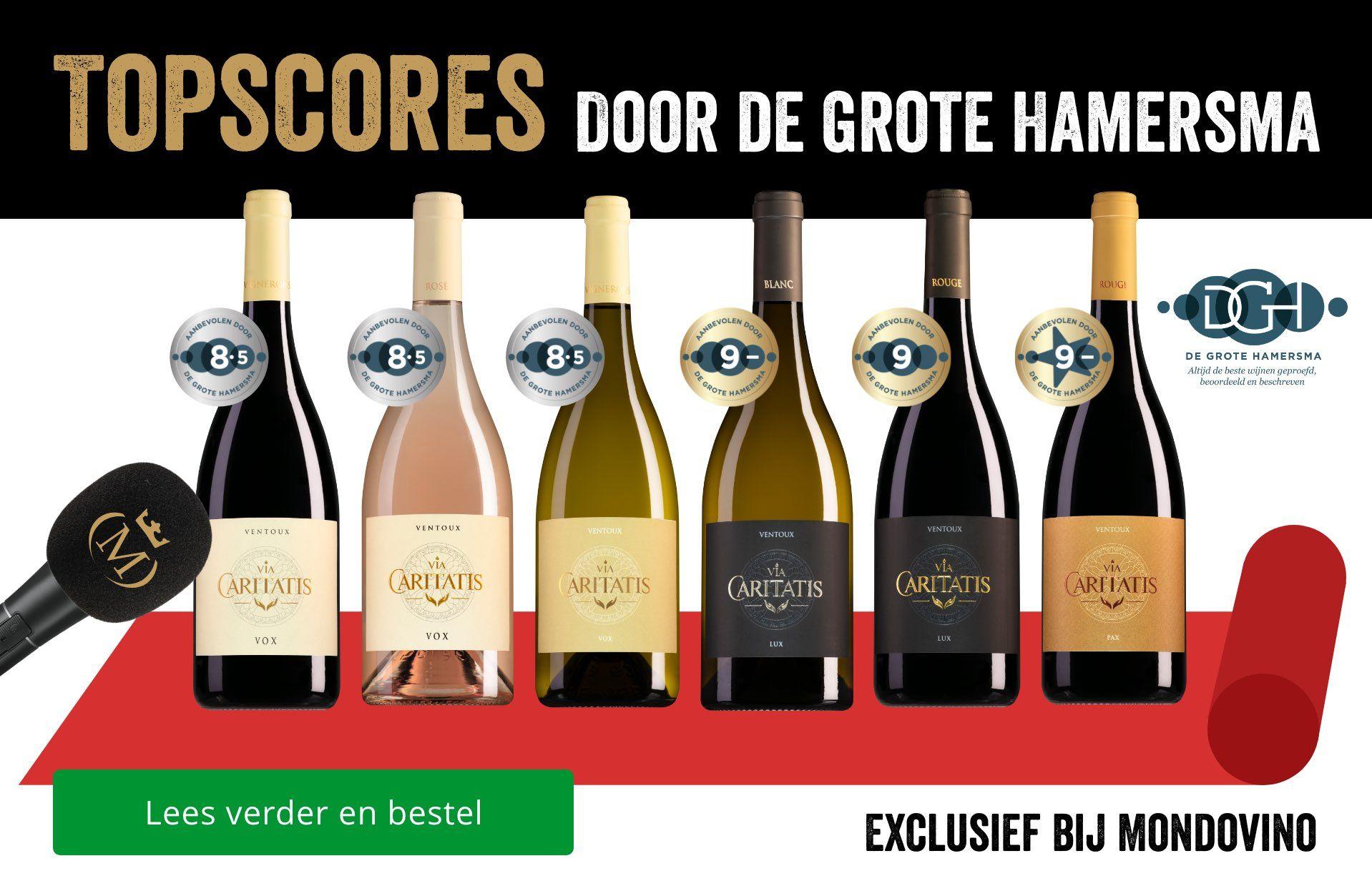 Dia - Via Cartitatis Ventoux topscores door De Grote Hamersma