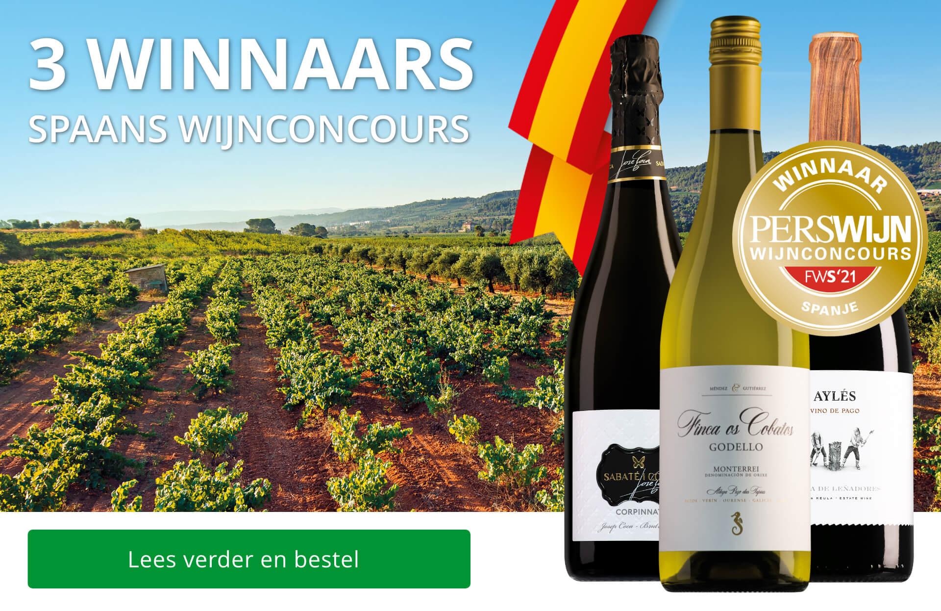 Winnaars Perswijn Wijnconcours Spanje 2021